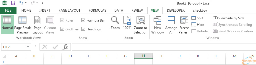 Group Sheet Excel