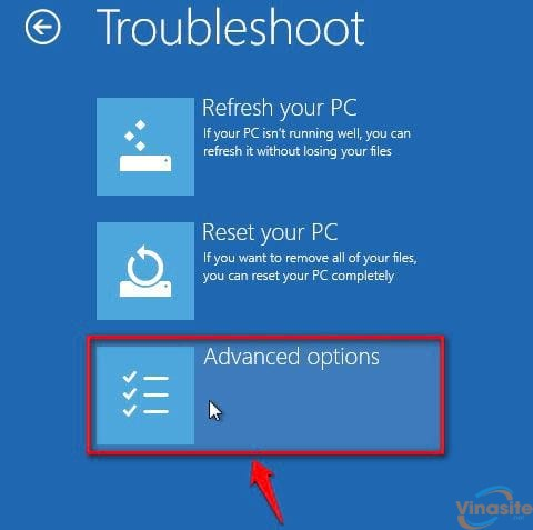 cach vao safe mode windows 10 trong khi boot vao windows loi 3