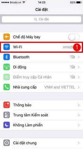 doi dns cho iphone ipad 1