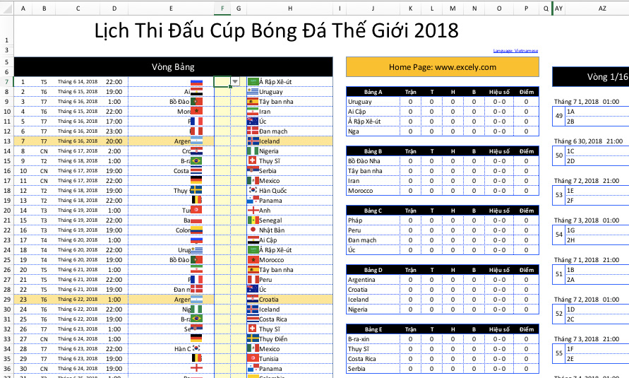 world cup 2018 vn