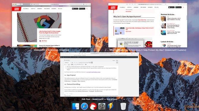 App Exposé Mac