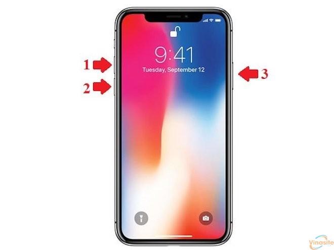 Hướng dẫn khởi động lại iPhone khi máy treo cứng