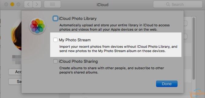 My Photo Stream Mac
