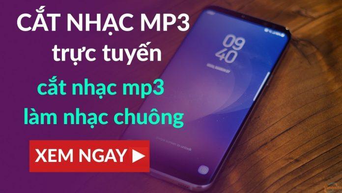 Cắt nhạc mp3 trực tuyến