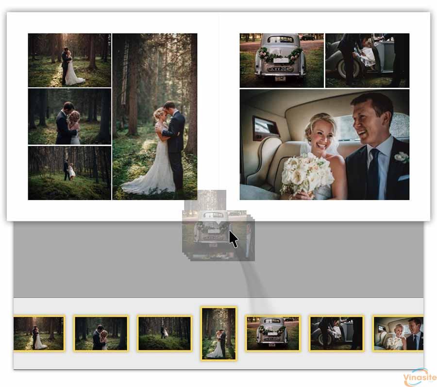 Pixellu SmartAlbums Mac OS – Thiết kế album cưới chuyên nghiệp