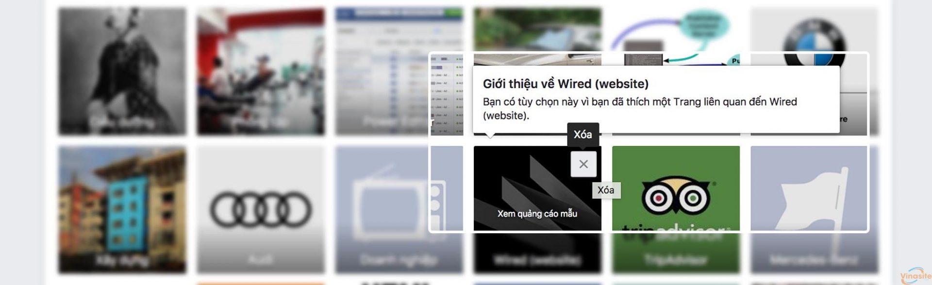 Điều chỉnh, xóa bớt những sở thích của bạn trên Facebook