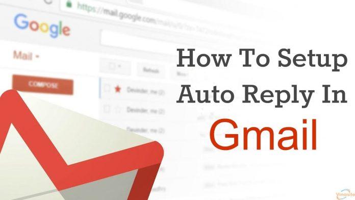 Tạo thư trả lời tự động trong Gmail