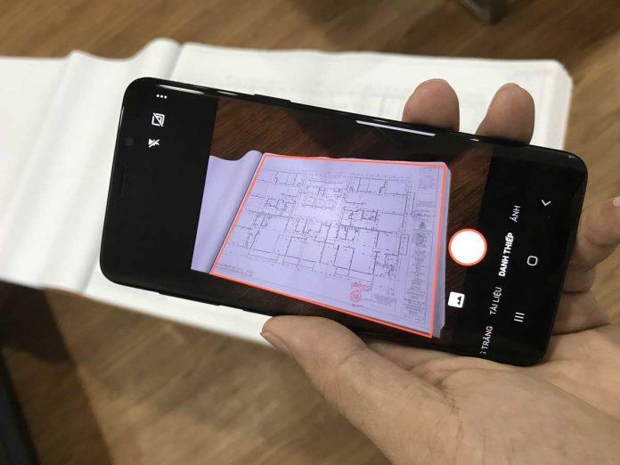 Office Lens - ứng dụng hỗ trợ scan tài liệu bằng điện thoại