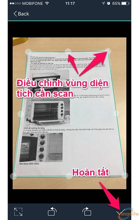 huong dan scan tai lieu van ban tren iphone 31