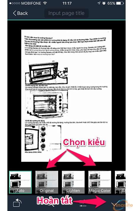 huong dan scan tai lieu van ban tren iphone 41
