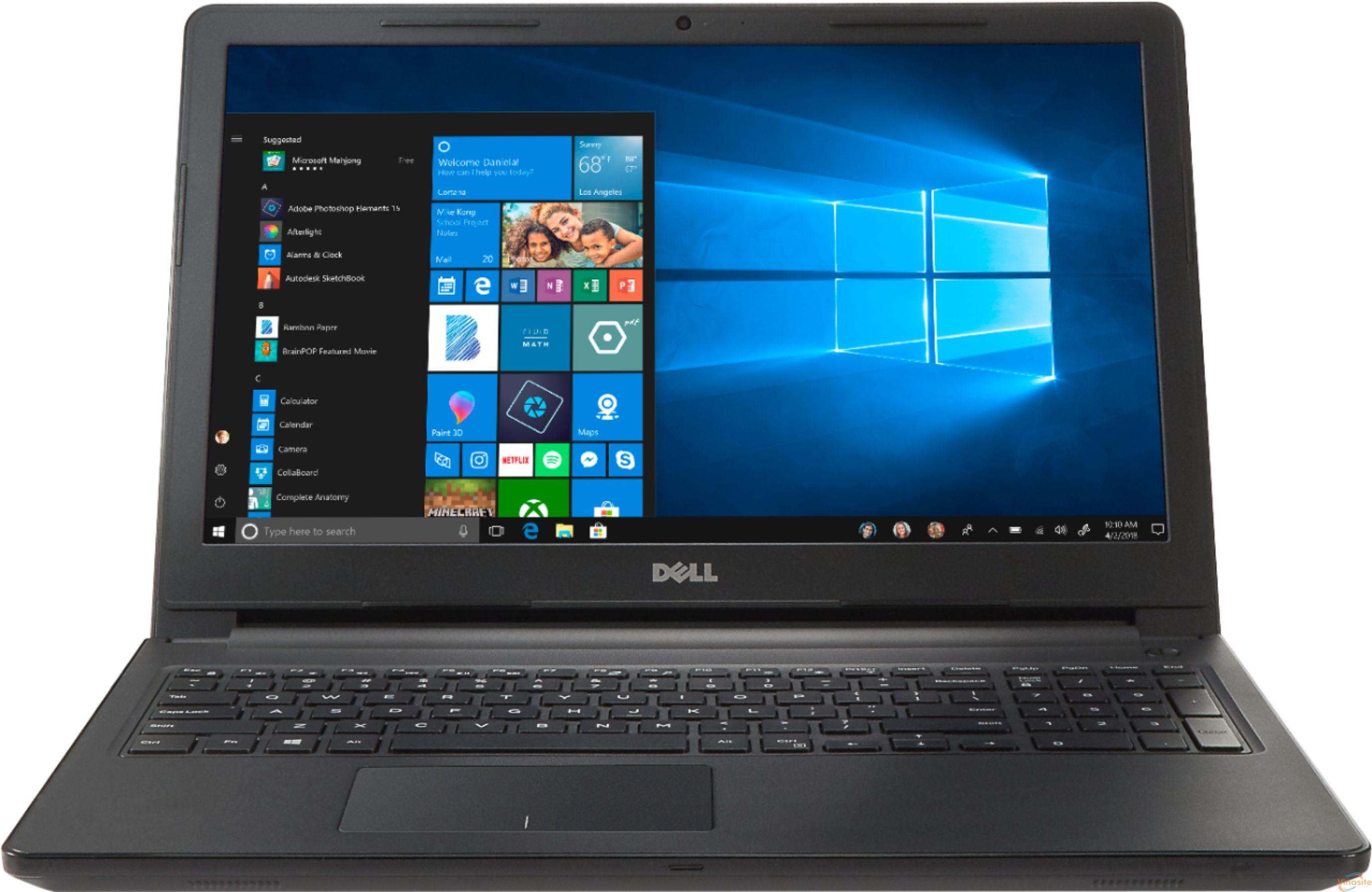Máy tính hãng Dell Insprion đáp ứng nhu cầu đơn giản, phổ biến