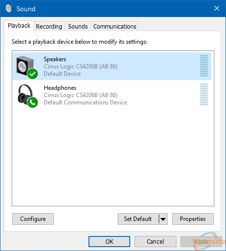 use speaker and headphone at the same time in Windows 10 step3