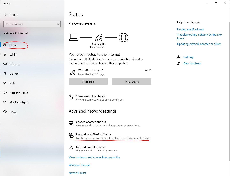 Tìm lại mật khẩu Wifi đã lưu trên máy tính