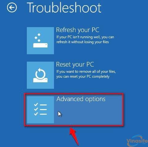 cach vao safe mode windows 10 trong khi boot vao windows loi 3