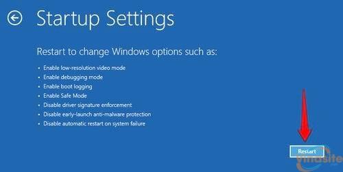 cach vao safe mode windows 10 trong khi boot vao windows loi 5