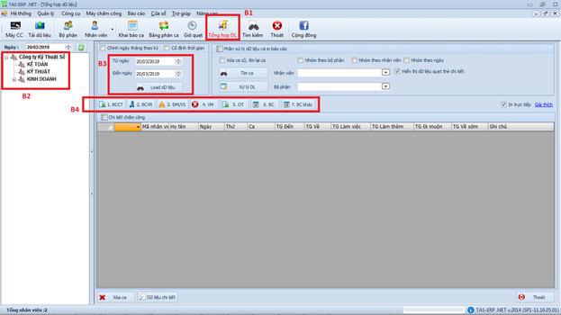 Hướng dẫn sử dụng phần mềm TAS ERP